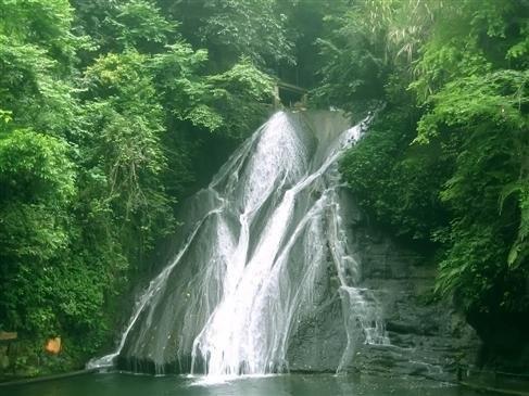 壁纸 风景 旅游 瀑布 山水 桌面 487_365