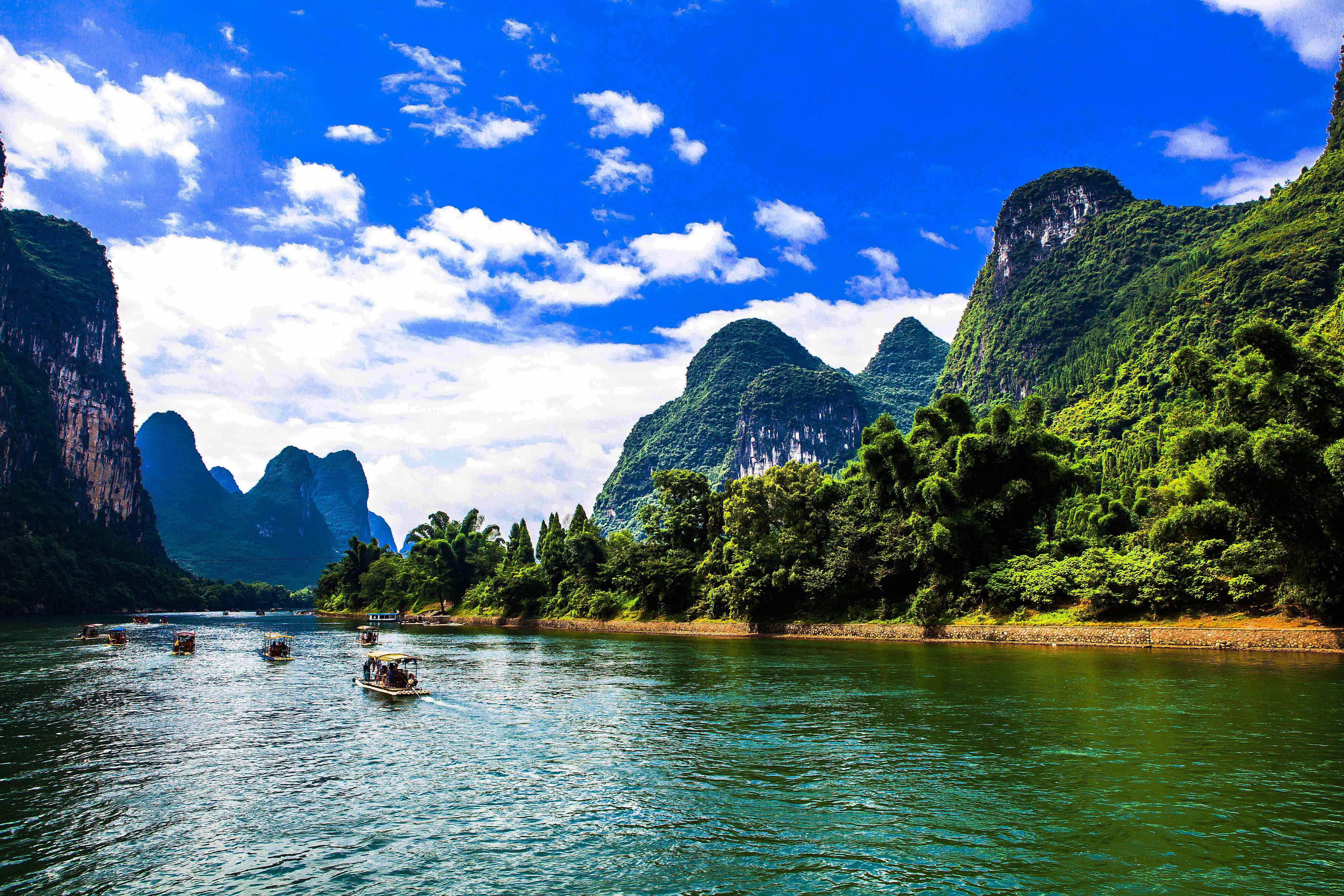 桂林最具代表风景图片