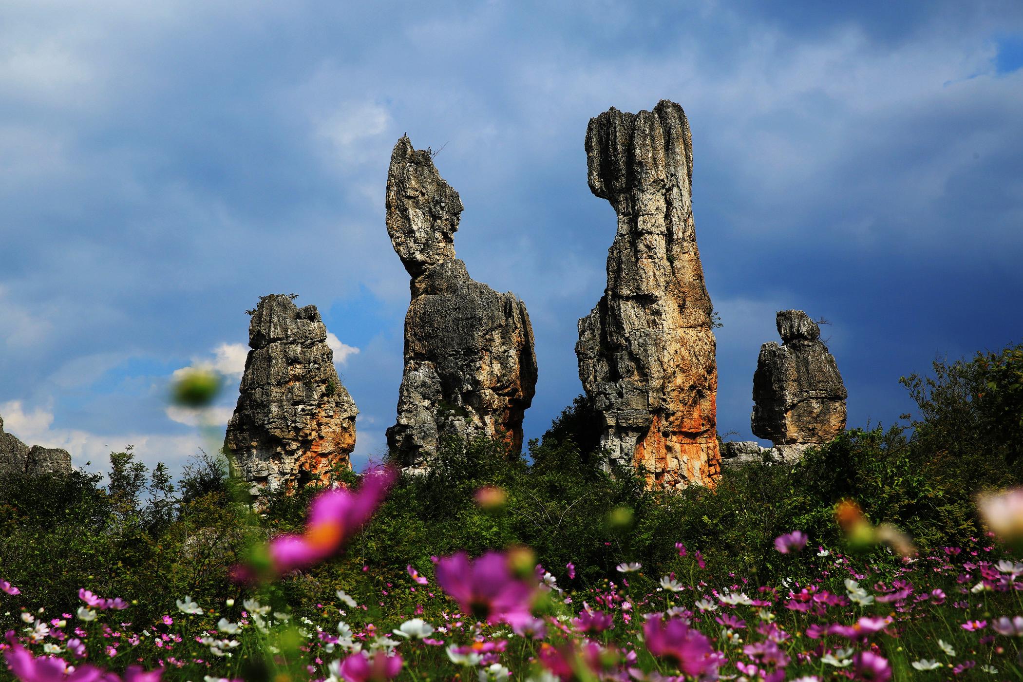 后前往餐厅早餐 07:00早餐后游览阿诗玛的故乡--【乃古石林】旧名石门