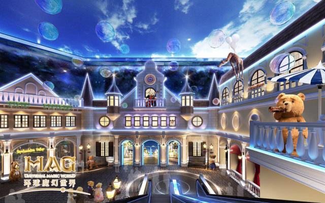 玩转新世纪 唯美震撼夜光3d星球,阿凡达的梦幻世界 泰迪熊森林奇遇记