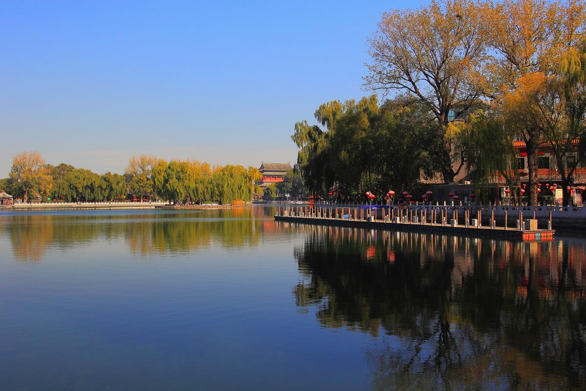 游览冯小刚导演电影《老炮》实景拍摄地【什刹海风景区】这里既有北京