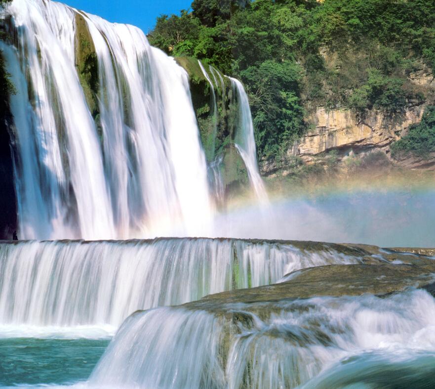 贵州青岩古, 黄果树瀑布双动5天